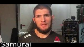 UFC 223. ОБРАЩЕНИЕ ХАБИБА К ФАНАТАМ ПОСЛЕ БОЯ