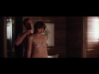 Дакота Джонсон (Dakota Johnson) голая в фильме Пятьдесят оттенков свободы (2018)