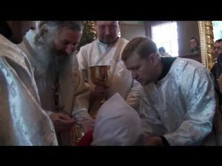 Причастие в церкви Вознесенской г. Йошкар-Ола