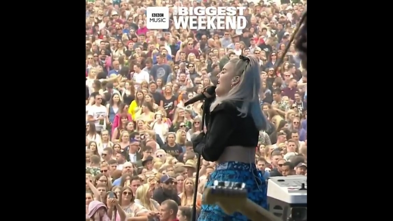 BBC Radio 1 biggestweekend yesterday!! Loved it so much.