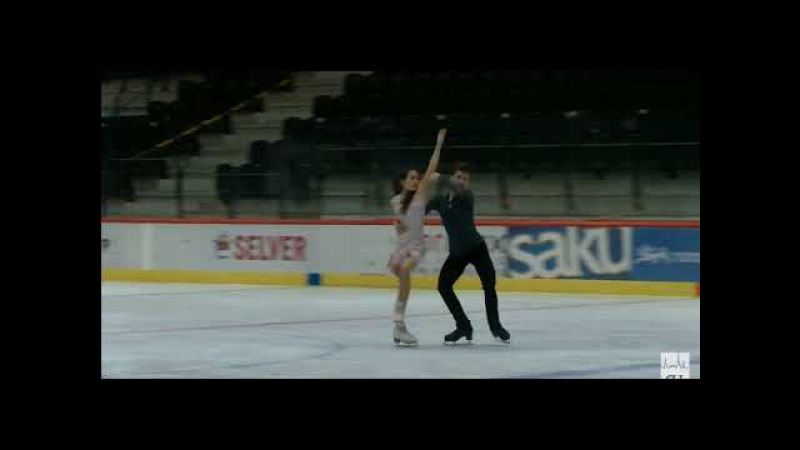 18 Elizaveta KHUDAIBERDIEVA Nikita NAZAROV RUS 2017 TA⅃⅃INN TROPHY JUNIOR Ice Dance FD