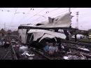 Видео с места аварии на железнодорожном переезде ст. Покров