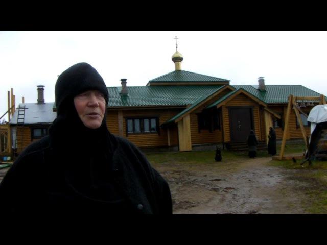 Свято Митрофаньевская пустынь Важеозерского монастыря ноябрь 2017 г