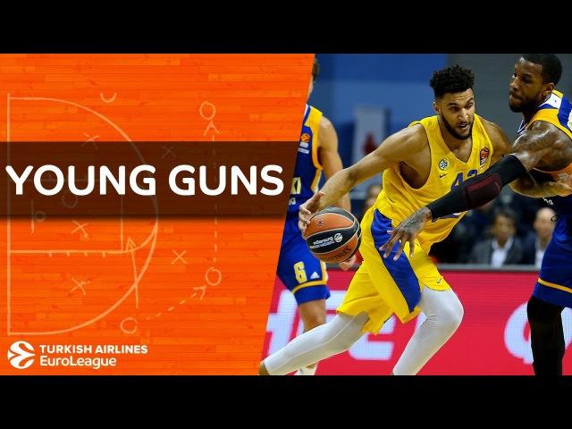 Young Guns Jonah Bolden Maccabi FOX Tel Aviv