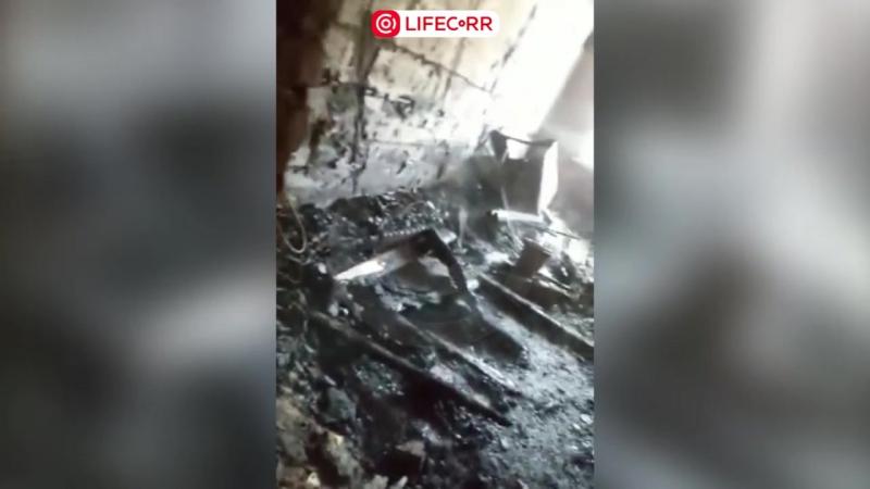 Страшный пожар в поселке Новоомский: 5 человек погибло
