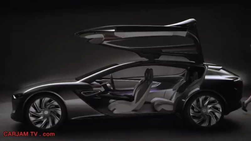 Opel Monza HD Hybrid Gullwing Sexy Commercial 2014 GM Concept Electric Car Carjam TV HD