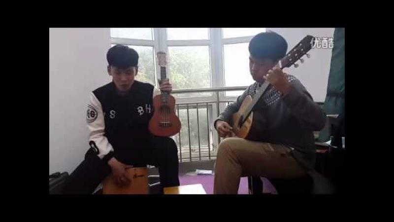 Chinese boy Throat Singing Amyran 故乡 呼麦