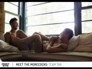 Meet the morecocks ep.3: team tan (levi karter & ricky roman)