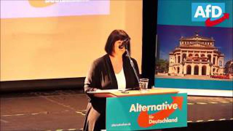 Joana Cotar AfD Hessen Sehenswerte Rede