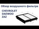 Обзор воздушного автомобильного фильтра для CHEVROLET, DAEWOO и ZAZ. NORDFIL AN1015