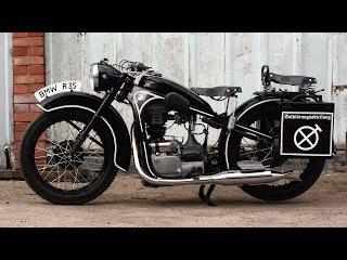 BMW R35. Мотоцикл после реставрации. Купить можно в Мотоателье Ретроцикл