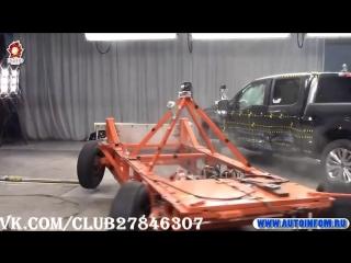 Боковой краш тест 2018 Ford F 150