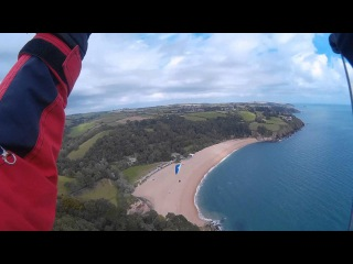 Paragliding with the SJ7000 Action Camera at Strete, South Devon