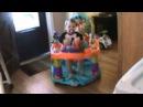 EXERSAUCER jumping baby sawyer jumping.wmv