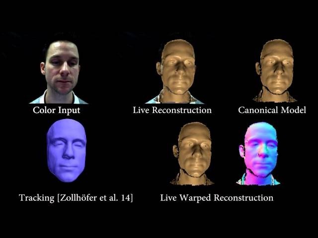 VolumeDeform Real-time Volumetric Non-rigid Reconstruction (ECCV 2016)