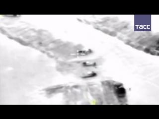 Видео удара ВКС по командирам 'Джебхат ан-Нусры'