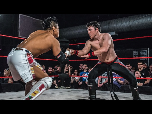 KUSHIDA vs Mike Bailey WCPW Loaded September 28th 2017 Part 2