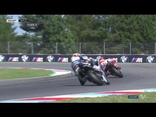 Marquez keeps it rubber side down..