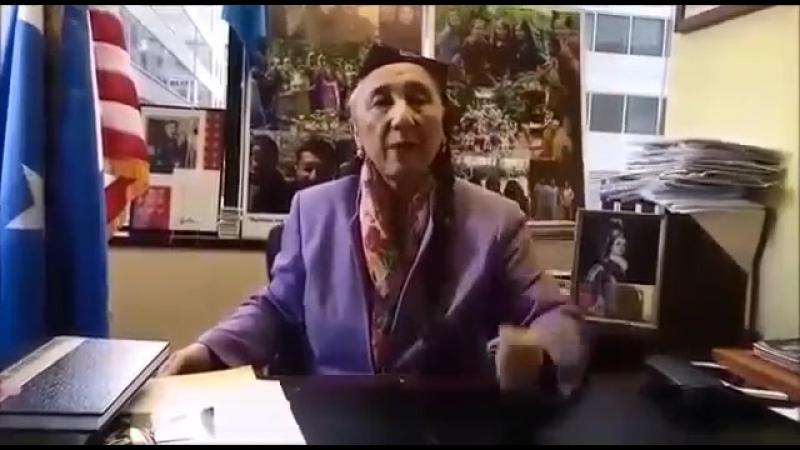 Рабия Кадыр мәлімдемесі
