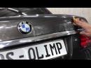 BMW 740 полировка фар, керамика с гидроотталкивающей функцией и стеклянным блеском