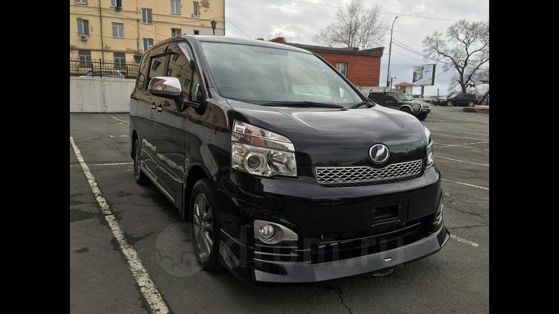 Toyota Voxy ZS Kirameki Z 4WD - Краткий обзор стильного Вокси