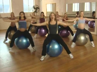 Lauren Gabriel - Preggi Bellies Ball Workout - Exercise for Pregnancy 2003