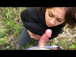 Angelina dorosheva (lolly lips) [public, russian girl, blowjob]