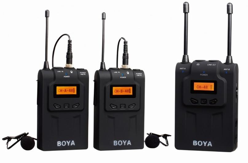 Петличная радиосистема Boya BY-WM5