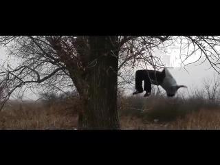 Прыгун из Зимовников Устархан Бекмурзаев продолжает удивлять своими трюками!