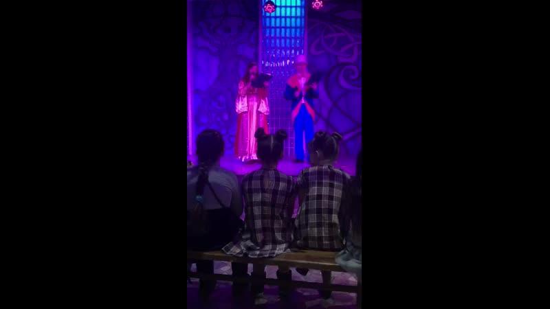 Кусочек видео с конкурса «Мисс ФэнтазиГрад 2019»