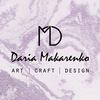 Авторская керамика, арт и дизайн Дарьи Макаренко