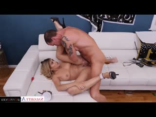 Stephanie West & Tony De Sergio [ Young & Sperm / Deep blowjob, Pussy, Riding dick, Heels, Cumshot pubis, Intimate haircut