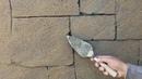 Como hacer bloques rústicos con realce y textura de arena
