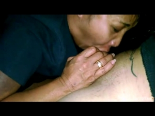 Real asian mother and son 1