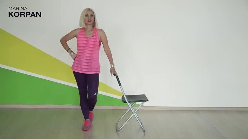 Упражнение для похудения задней поверхности бедра оксисайз и бодифлекс Марина Корпан. Как похудеть