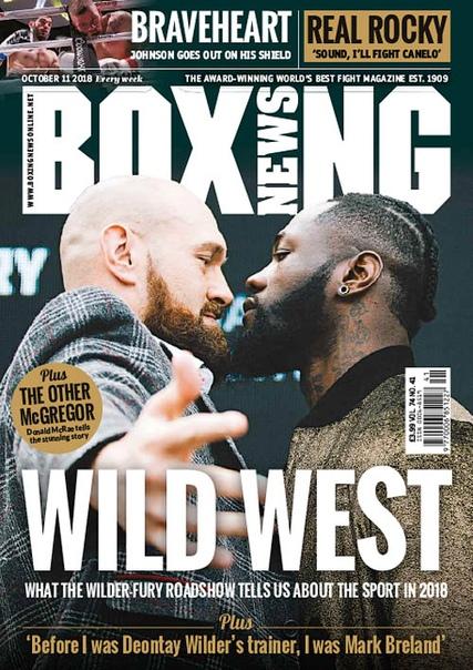 2018-10-11 Boxing News