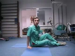 лфк Лечебная гимнастика при пояснично- крестцовом остеохондрозе