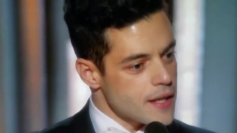 Rami Malek's speech at the Golden Globes 2019