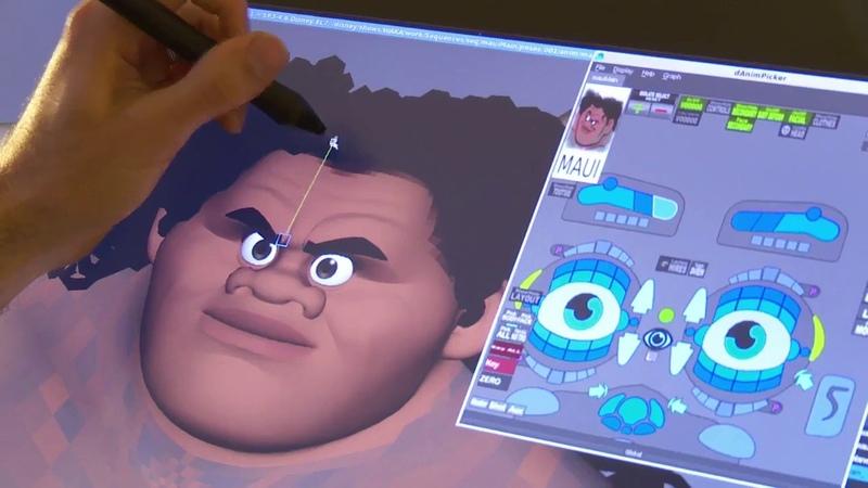 Un Vistazo al Behind The Scenes de Moana, desde Walt Disney Animation Studios