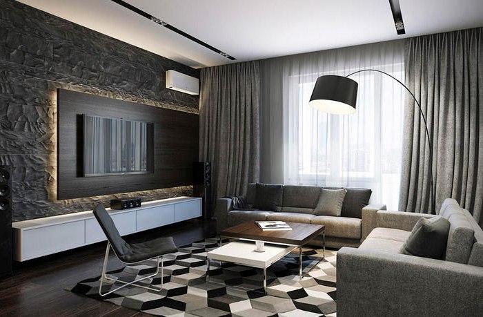 Потолочные шторы в зал — советы и рекомендации по выбору, изображение №4