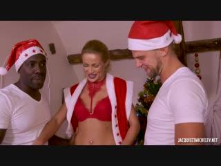 Un cadeau de Noel nomme Cherry, 25ans [Jacquieetmicheltv. Anal, Blowjob, DP, French, Interracial, Threesome]