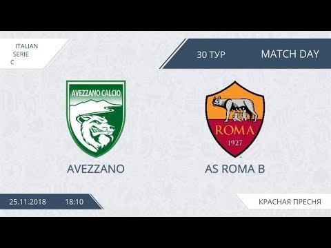 AFL18. Italy. Serie C. Day 30. Avezzano - AS Roma B