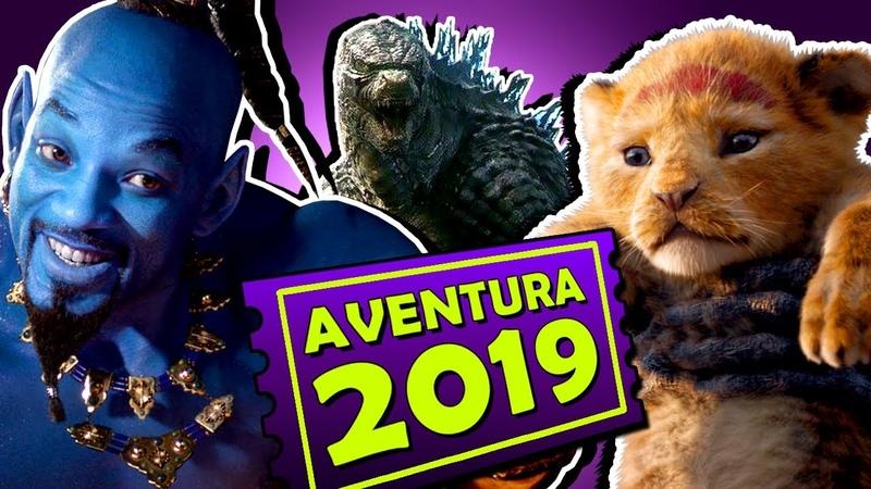 8 FILMES DE AVENTURA MAIS ESPERADOS DE 2019