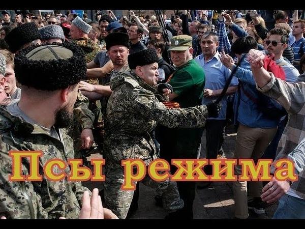Д Робот. Казачье войско на службе у царя. Цепные псы путинского режима.