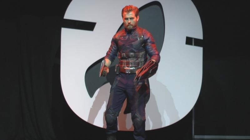 Cosplay Капитан Америка Starcon 2018