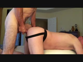 Latin daddy with big cock fucks me deep