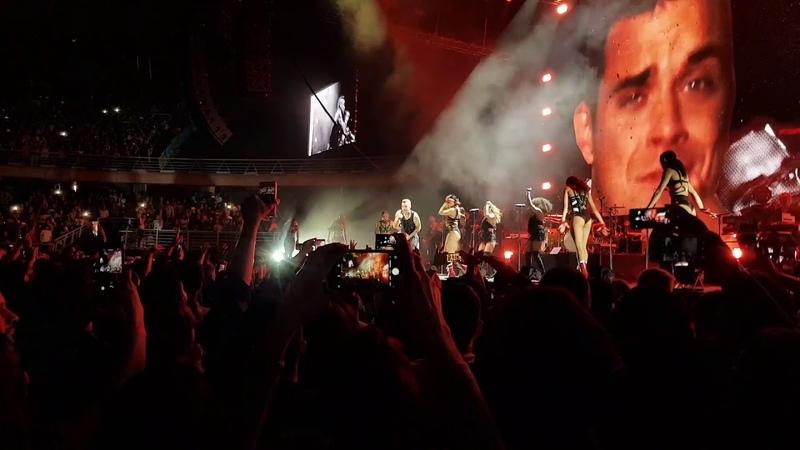 SHow Robbie Williams en Chile movistar arena 5 nov 2018