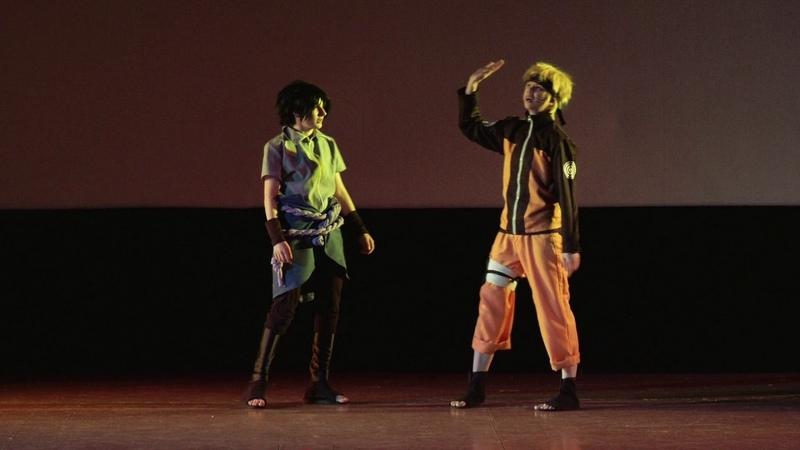 AnimeDay 2017 Block3 Mini Action Cosband REIKAN Ожидание Реальность Naruto Shippuden