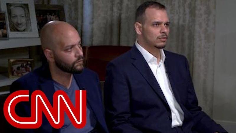Sons of slain Saudi journalist speak to CNN смотреть онлайн без регистрации