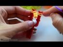 Как плести самый простой браслет из резинок на рогатке 1.mp4